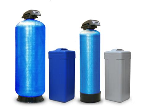 Схема работы фильтра-умягчителя воды
